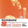 Sarah Vaughan - Ultimate Sarah Vaughan  artwork