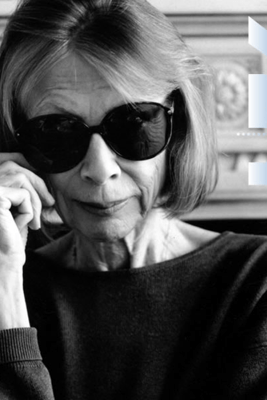 Joan Didion at the 92nd Street Y - Joan Didion