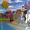 Prince & The Revolution - Around the World In a Day  artwork