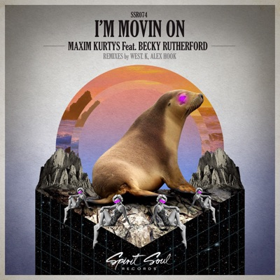 I'm Movin On (West.K Remix) - Maxim Kurtys Feat. Becky Rutherford mp3 download