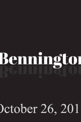 Bennington, Sebastian Maniscalco, October 26, 2016 - Ron Bennington