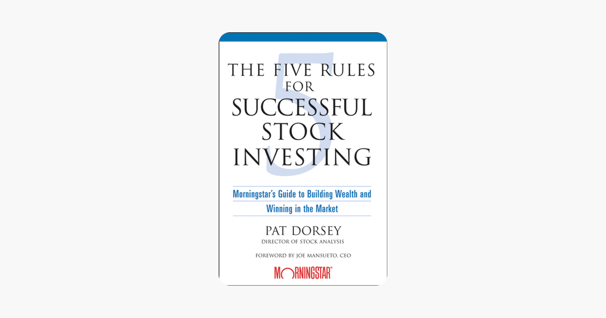 The Five Rules for Successful Stock Investing on Apple Books