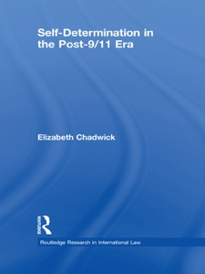 Self-Determination in the Post-9/11 Era - Elizabeth Chadwick pdf download