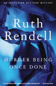 Murder Being Once Done - Ruth Rendell pdf download