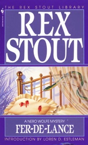 Fer-de-Lance - Rex Stout pdf download