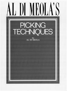 Al Di Meola's Picking Techniques (Music Instruction) - Al Di Meola pdf download