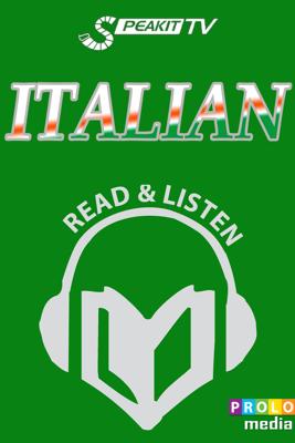 Italian phrase book | Read & Listen | NEW! Fully audio narrated (51002) - Prolog Editorial