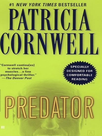 Predator by Patricia Cornwell PDF Download