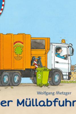 Mein erstes interaktives eBook: Bei der Müllabfuhr - Daniela Prusse
