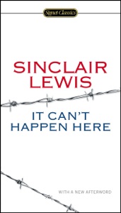 It Can't Happen Here - Sinclair Lewis, Michael Meyer & Gary Scharnhorst pdf download