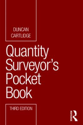 Quantity Surveyor's Pocket Book - Duncan Cartlidge