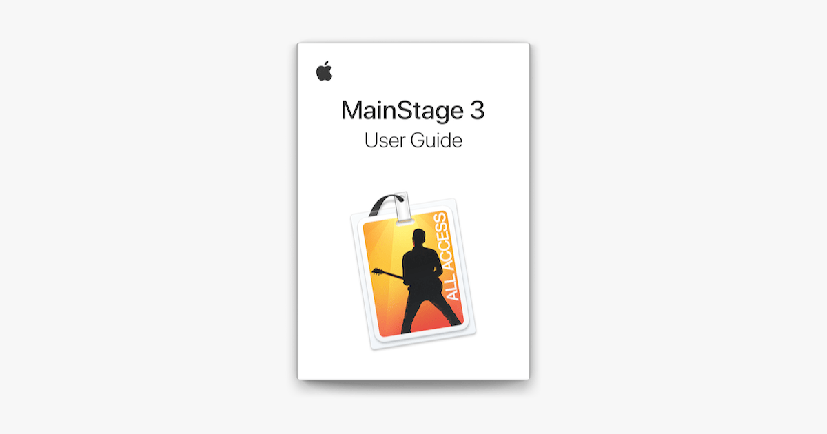 MainStage 3 User Guide on Apple Books