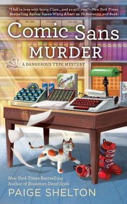 Comic Sans Murder - Paige Shelton pdf download