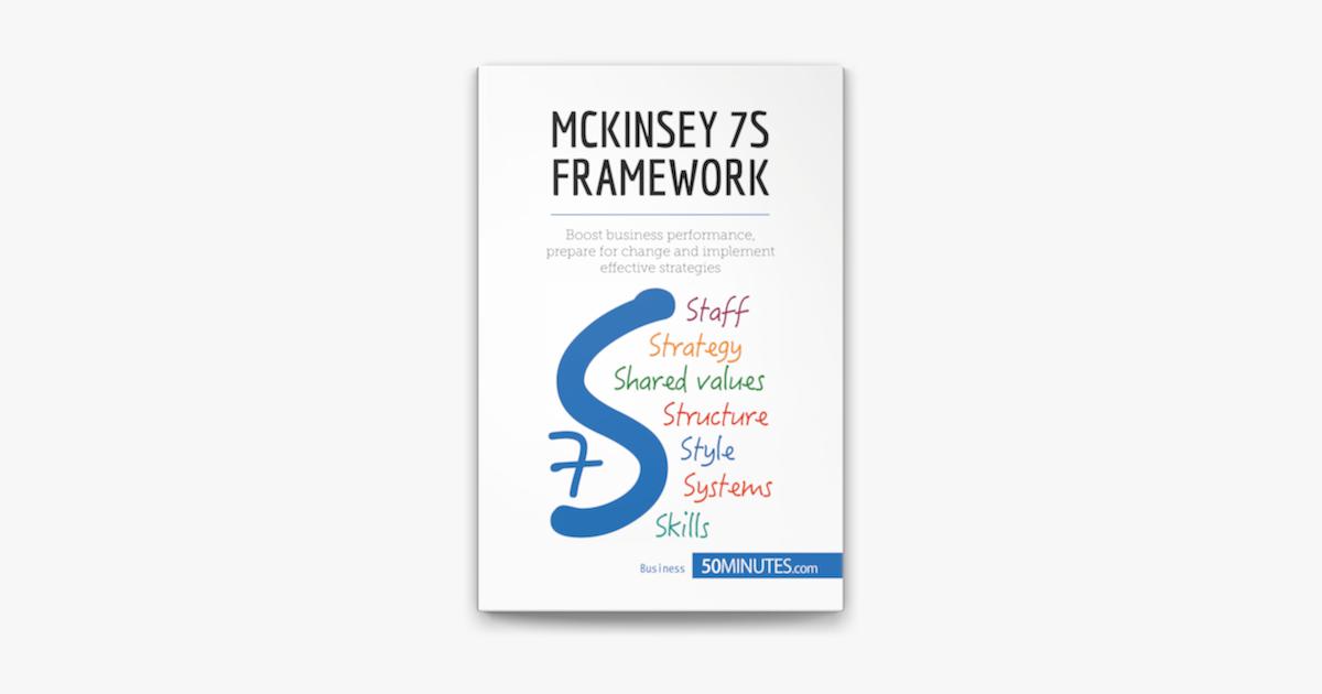 McKinsey 7S Framework on Apple Books