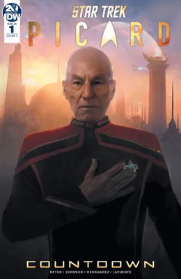 Star Trek: Picard—Countdown #1 - Mike Johnson, Kirsten Beyer & Angel Hernandez pdf download