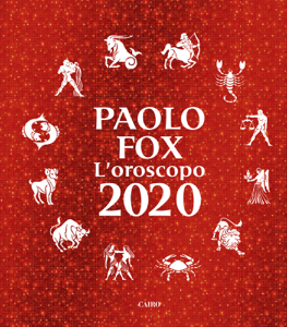 L'oroscopo 2020 - Paolo Fox pdf download