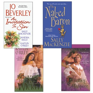 Hot Historicals Bundle with An Invitation to Sin, The Naked Baron, When His Kiss  Is Wicked, & Mastering the Marquess - Sally MacKenzie, Vanessa Kelly, Kaitlin O'Riley & Jo Beverley pdf download