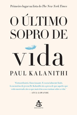 O último sopro de vida - Paul Kalanithi pdf download