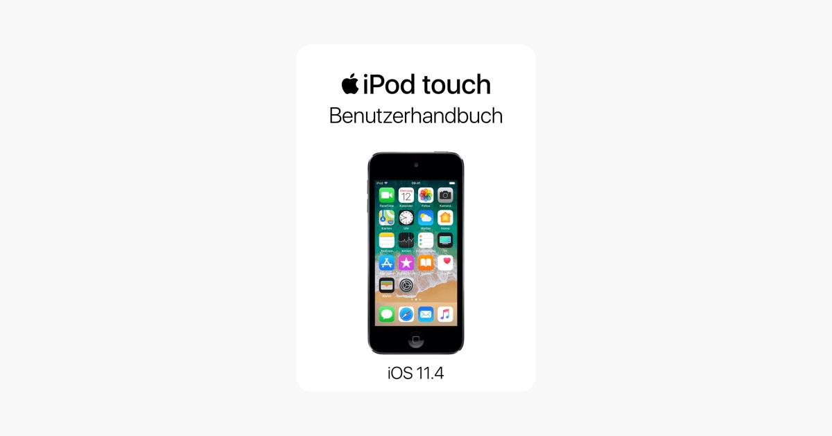 iPod touch-Benutzerhandbuch für iOS 11.4 in Apple Books