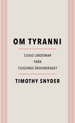 Om tyranni - Timothy Snyder pdf download