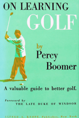 On Learning Golf - Percy Boomer