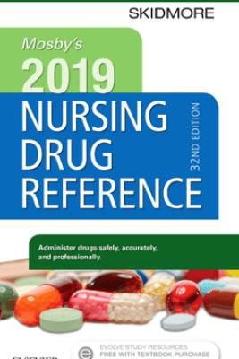 Mosby's 2019 Nursing Drug Reference E-Book - Linda Skidmore-Roth RN, MSN, NP
