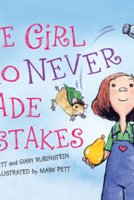 The Girl Who Never Made Mistakes - Mark Pett