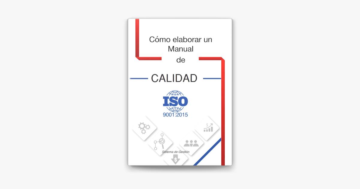 Manual de Calidad ISO 9001:2015 en Apple Books