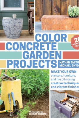 Color Concrete Garden Projects - Nathan Smith