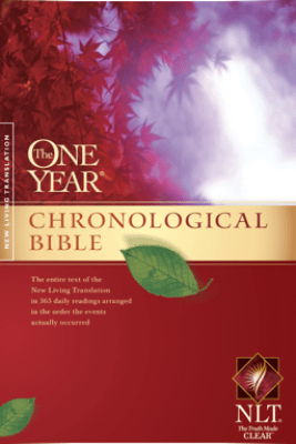 The One Year Chronological Bible NLT - Tyndale House Publishers