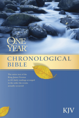 The One Year Chronological Bible KJV - Tyndale House Publishers