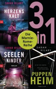 Die Marnie-Rome-Reihe Band 1-3: Herzenskalt / Seelenkinder / Puppenheim (3in1-Bundle) - Sarah Hilary pdf download