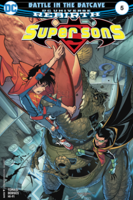 Super Sons (2017-) #5 - Peter J. Tomasi & Alisson Borges