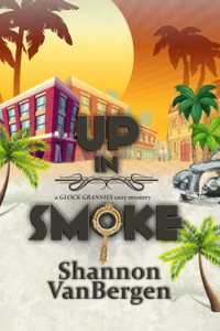 Up in Smoke: A Glock Grannies Cozy Mystery - Shannon VanBergen pdf download