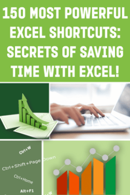 150 Most Poweful Excel Shortcuts - Andrei Besedin