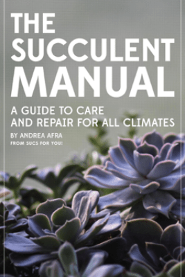 The Succulent Manual: A Guide to Care and Repair for All Climates - Andrea Afra
