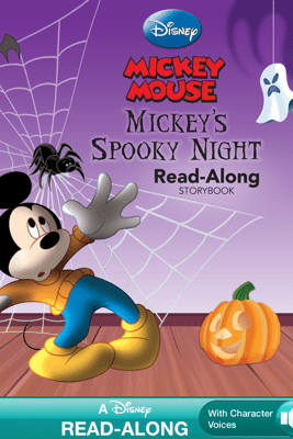 Mickey's Spooky Night Read-Along Storybook - Disney Book Group