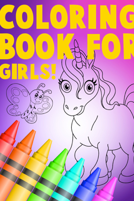Coloring Book For Girls - Allison Morgan