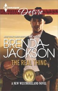 The Real Thing - Brenda Jackson pdf download
