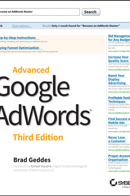 Advanced Google AdWords - Brad Geddes