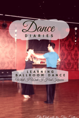 Dance Diaries: Learning Ballroom Dance - The Girl with the Tree Tattoo