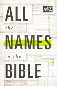 All the Names in the Bible - Thomas Nelson pdf download