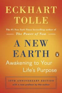 A New Earth (Oprah #61) - Eckhart Tolle pdf download