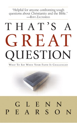 That's a Great Question - Glenn Pearson pdf download