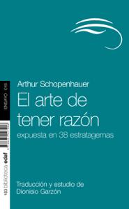 El arte de tener razón - Arthur Schopenhauer pdf download
