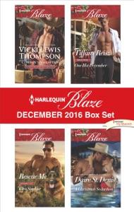 Harlequin Blaze December 2016 Box Set - Vicki Lewis Thompson, Tiffany Reisz, Kira Sinclair & Daire St. Denis pdf download