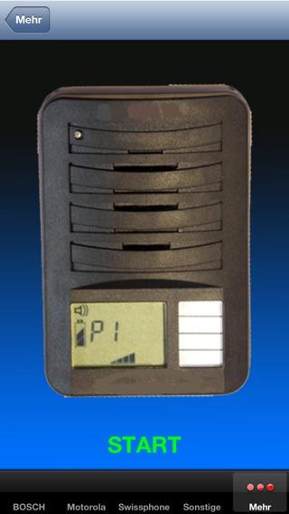 Piepser App Screenshot