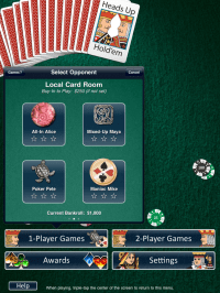 Heads Up: Holdem HD (1-on-1 Poker) on the App Store