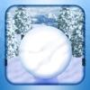 雪玉ゴロゴロアイコン