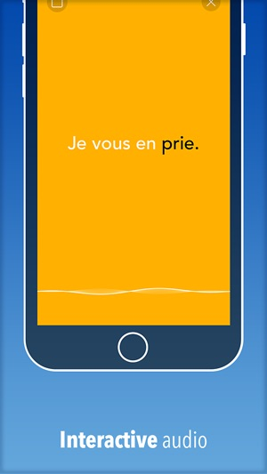 I Speak French : Offline phrasebook for travel and language learning! Screenshot